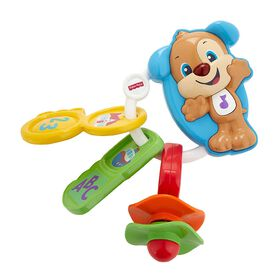 Fisher-Price Laugh & Learn Count & Go Keys - English Edition