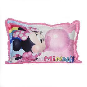 Disney Minnie Mouse Jumbo Funky Fur Pillow