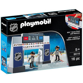 Playmobil - NHL Score Clock with 2 Referees (9016)