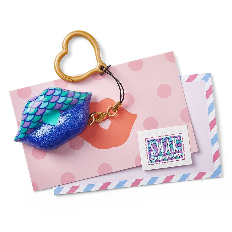 S.W.A.K. - Interactive Kissable Key Chain - Mermaid Sparkle Kiss - By WowWee