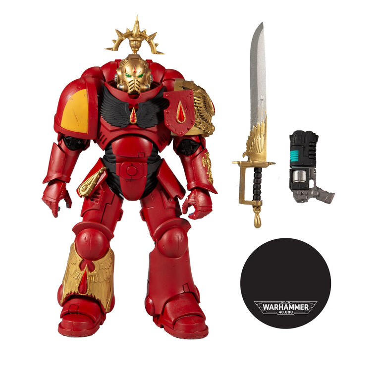 McFarlane Gold Label Collectors Series: Blood Angels Primaris Lieutenant (Warhammer 40K) - R Exclusive