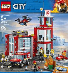 LEGO City La caserne de pompiers 60215