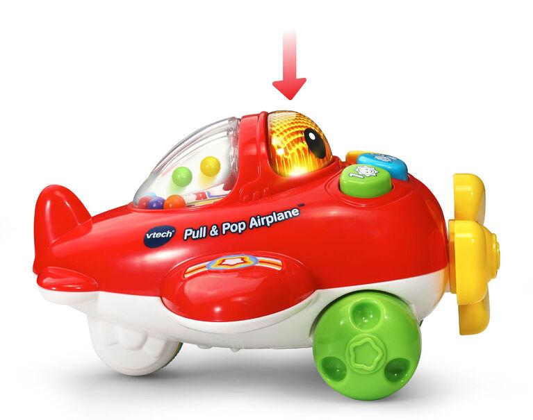 Pull & Pop Airplane - English Edition