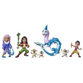 «Raya and the Last Dragon» de Disney, Histoire de Kumandra