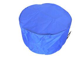 Boscoman - Solo Ottoman Bean Bag - Blue