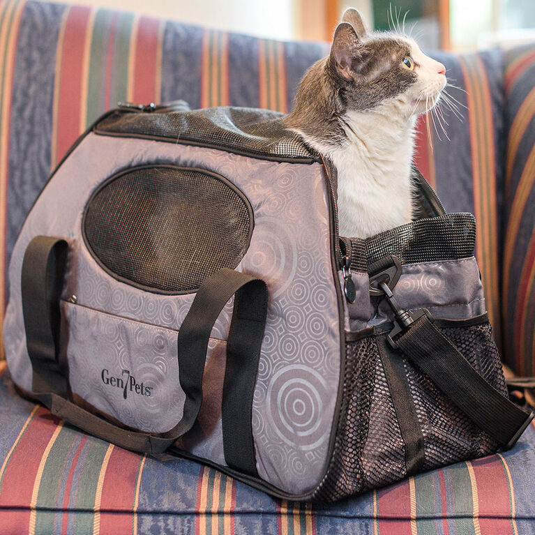 Sac de transport pour animal domestique Carry-Me de Gen7Pets - Gris