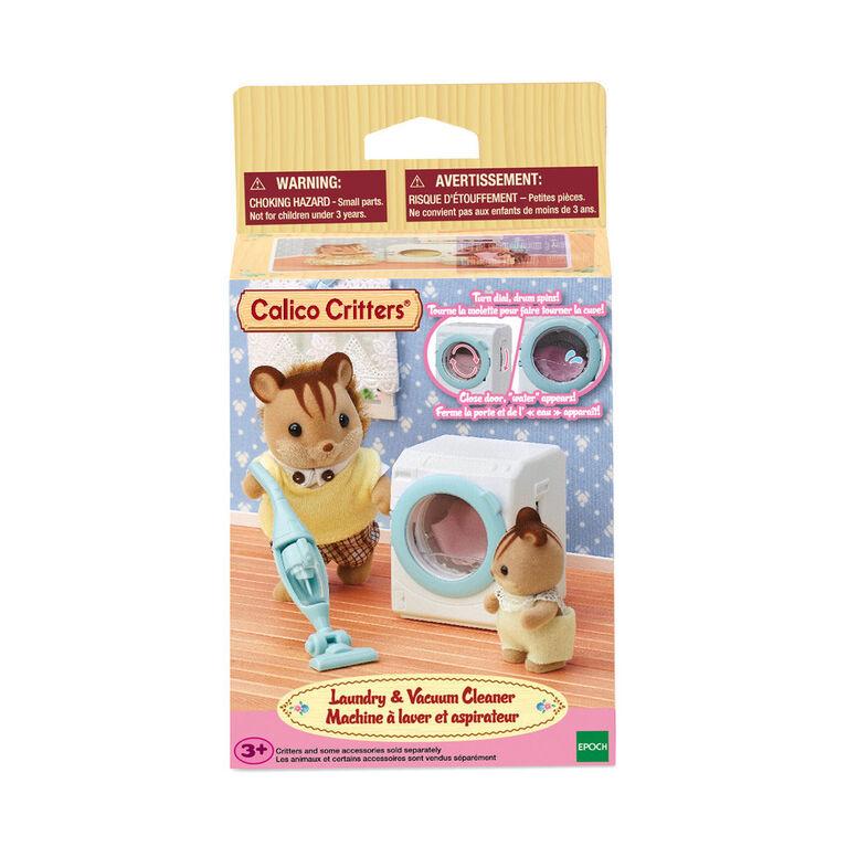 Calico Critters Machine À Laver Et Aspirateur