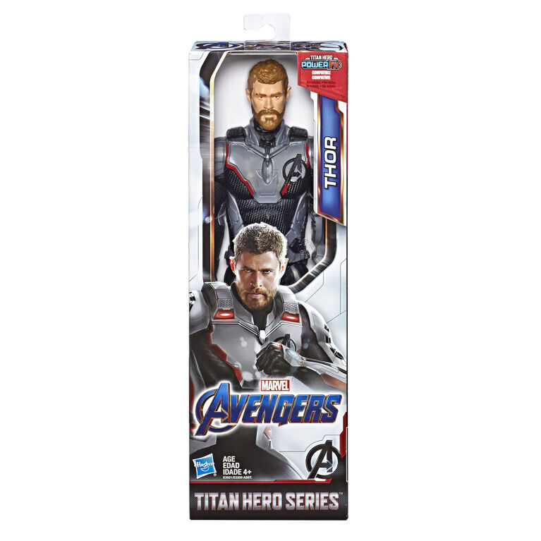 Marvel Avengers: Endgame Titan Hero Series Thor Action Figure with Titan Hero Power FX Port