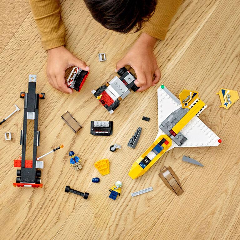 LEGO City Great Vehicles Le transport d'avion de voltige 60289