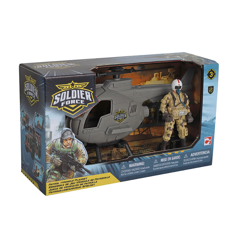 Soldier Force Patrol Vehicle Playset - Styles may vary - R Exclusive