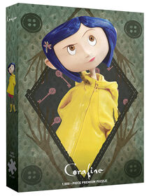 """Coraline """"Be Clever"""" 1000 Piece Puzzle"""