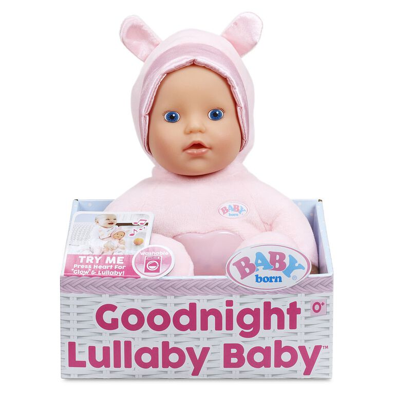 BABY born Goodnight Lullaby Baby- Blue Eyes