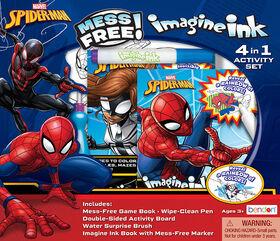 Trousse d'activités 4-en-1 Imagine Ink - Spiderman