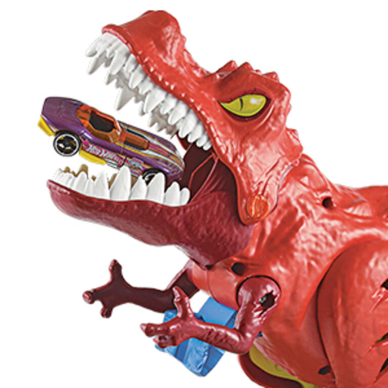 Hot Wheels - La Ville - Coffret Piste T- Rex