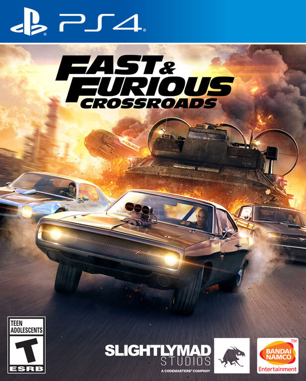 PlayStation 4 - Fast & Furious Crossroads