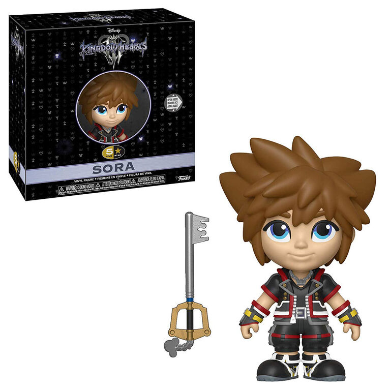Funko 5 Star! Games: Kingdom Hearts 3 - Sora Vinyl Figure