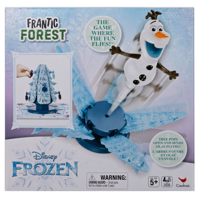 Olaf Frozen Frantic Forest Game for Kids and Families