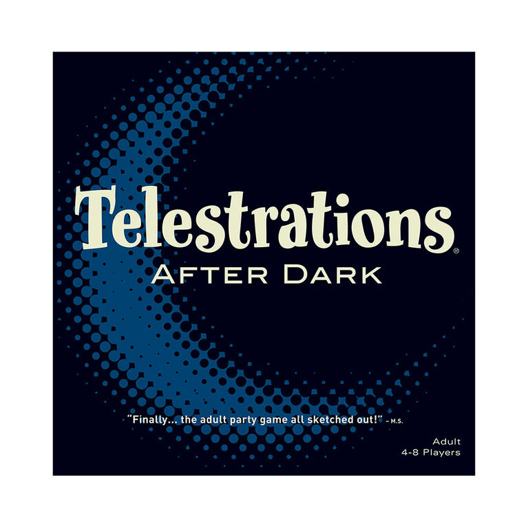 Jeu Telestrations After Dark