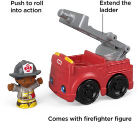 Fisher -Price Little People To The Rescue Fire Truck
