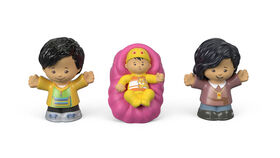 Fisher-Price - Little People - Famille Big Helpers - Rose