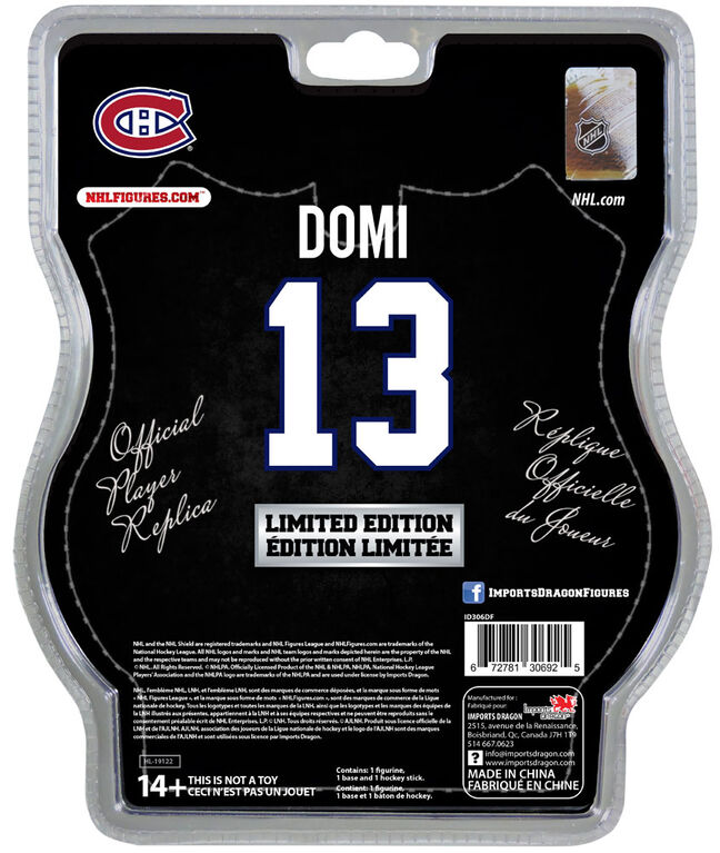 """Max Domi Montreal Canadiens 6"""" NHL Figure   Toys R Us Canada"""