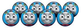 8 Pack Playball with Pump 4inch Thomas