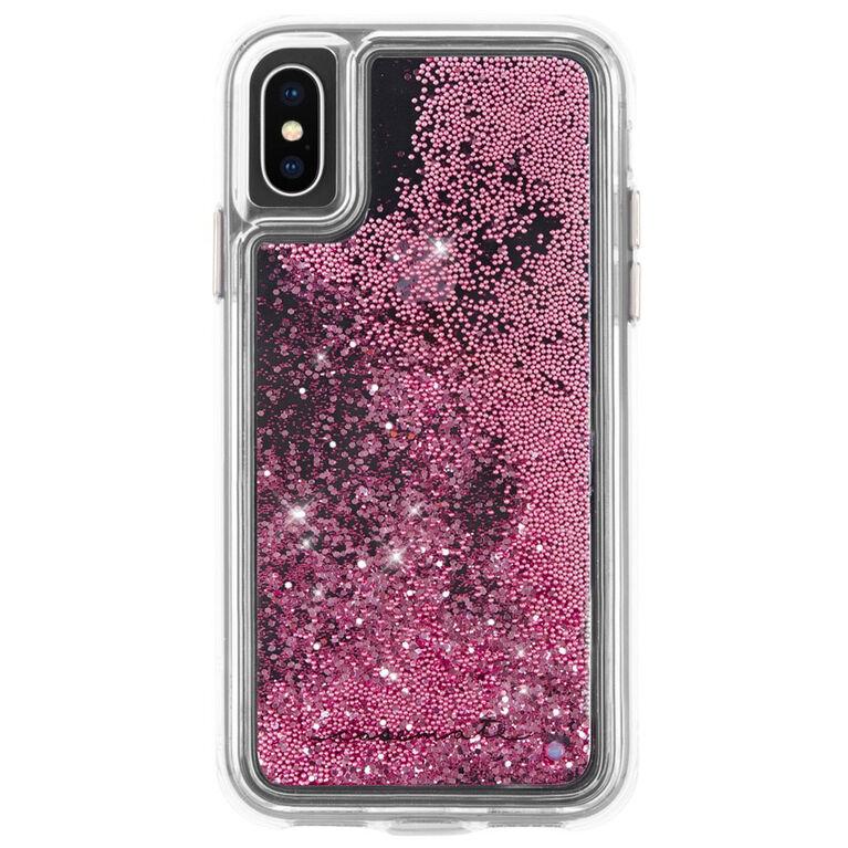 Étui Waterfall de Case-Mate pour iPhone Xs/X, or rose