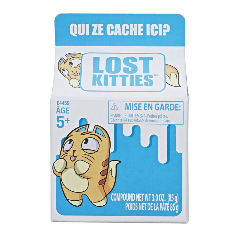 Lost Kitties Blind Box - French Edition - Colours and styles may vary