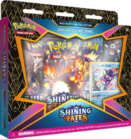 Pokemon Shining Fates Mad Party Pin Collections