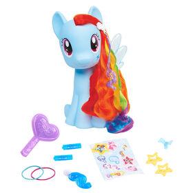 My Little Pony Rainbow Dash Styling Pony