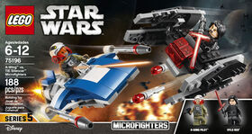 LEGO Star Wars  A-Wing™ vs TIE Silencer™ Microfighters 75196