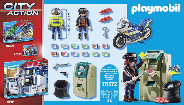 Playmobil - Bank Robber Chase