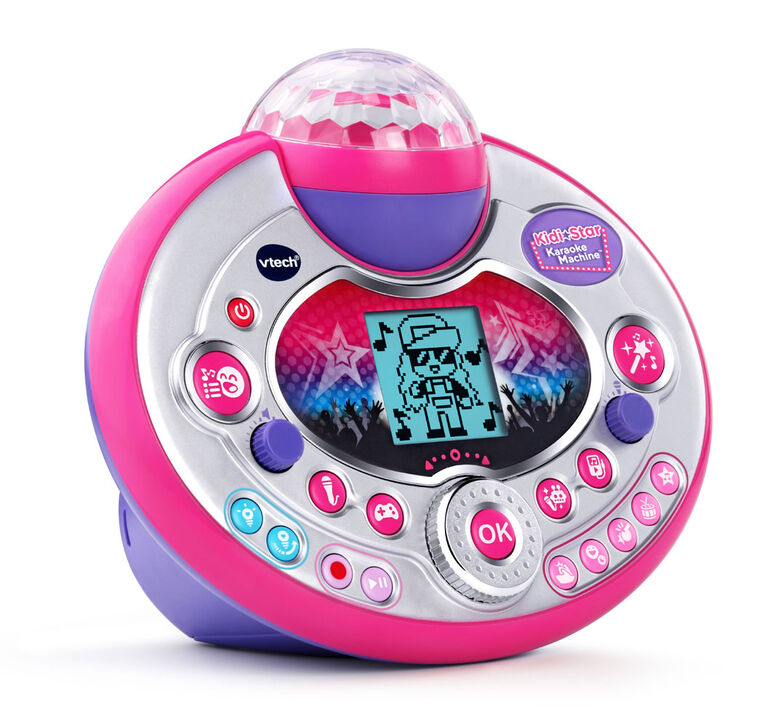 VTech® Kidi Star Karaoke Machine™ (Pink/Purple) - English Edition
