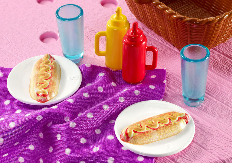 Barbie Outdoor Furniture, Picnic Table Pack
