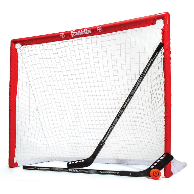 Franklin 46 inch Competition PVC Goal, 2 Sticks and Ball Set