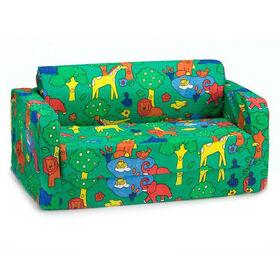 Comfy Kids Flip Sofa - Animal