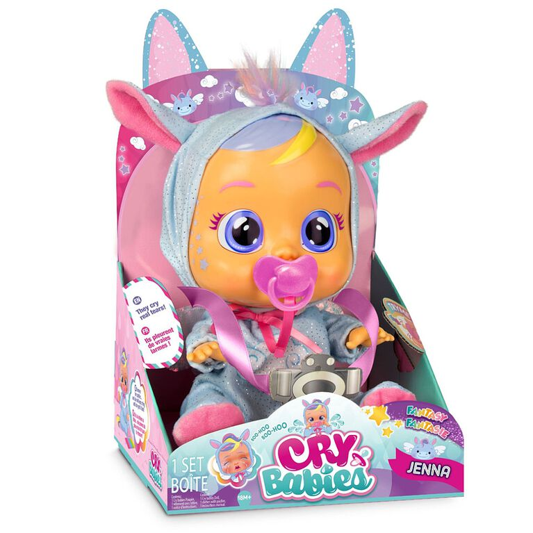 Cry Babies Doll - Jenna - only at Toys R Us Canada - R Exclusive