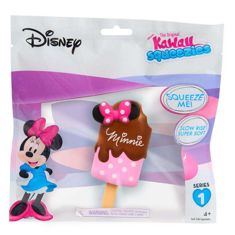 Disney Squeezies-Minnie-By Enzo Kawaii-Minnie Ice Cream Bar
