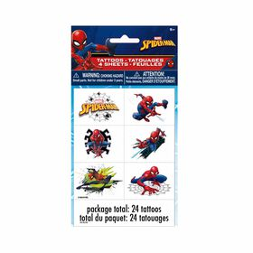 Spider-Man Tattoos, 24 pieces