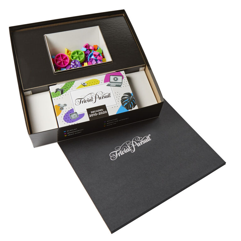 Trivial Pursuit Decades 2010 to 2020 Board Game - English Edition