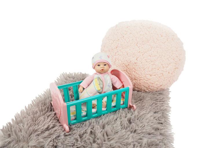 Ensemble Cadeau Poupée Bébé Li'L Cuddles De 8 Po (20,30 Cm) Divers - Les couleurs et les motifs peuvent varier - une par commande