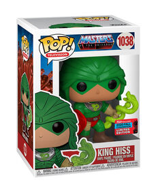 Funko POP! TV: Masters of the Universe - King Hiss (Fall Convention Exclusive)