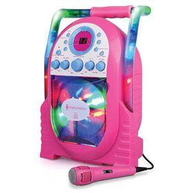 Singing Machine - Système de karaoké portatif à lumières