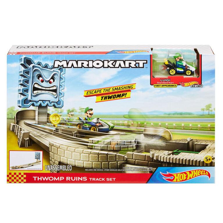 Hot Wheels - Mario Kart - Coffret Piste Ka-Bang - Notre Exclusivité