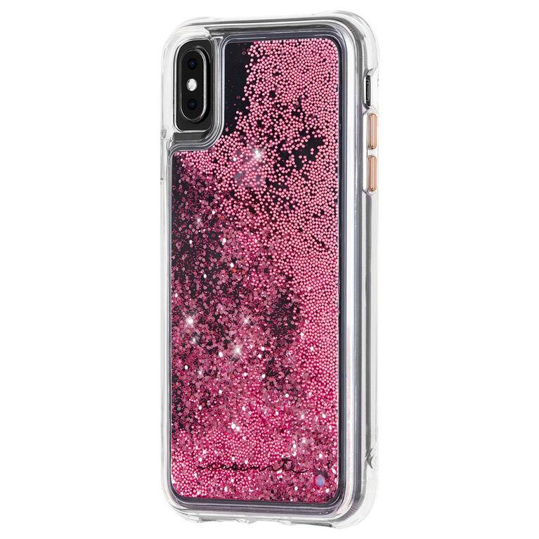 Étui Waterfall de Case-Mate pour iPhone Xs Max, or rose