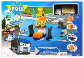 Robocar Poli - Ensemble de jeu Quai de chargement