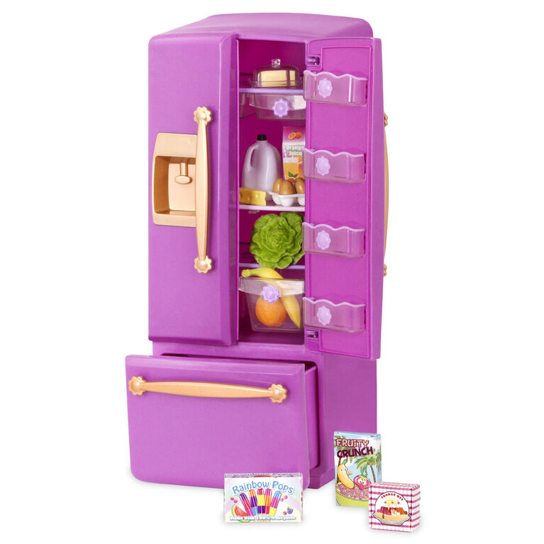 Ensemble De Cuisine Gourmet, Our Generation, Ensemble de cuisine gourmet pour poupées de 18po - violet