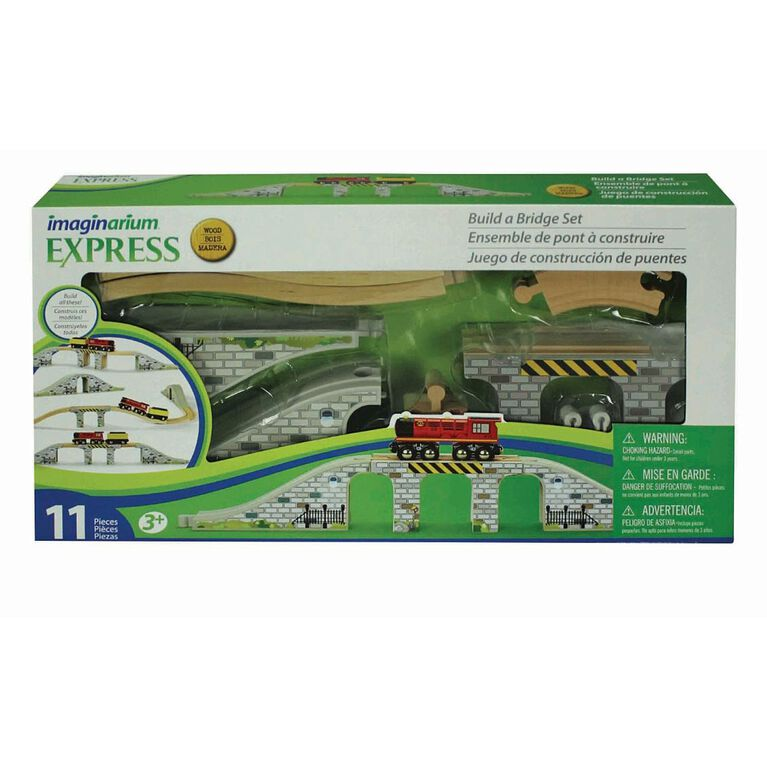 Imaginarium Express Build a Bridge 11 Piece Set
