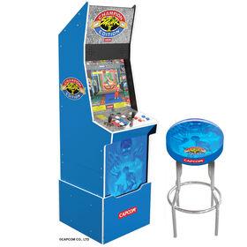 Street Fighter Ii-Riser/Lit Marque/Stool Big Blue