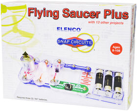 Snap Circuits® Flying Saucer Plus